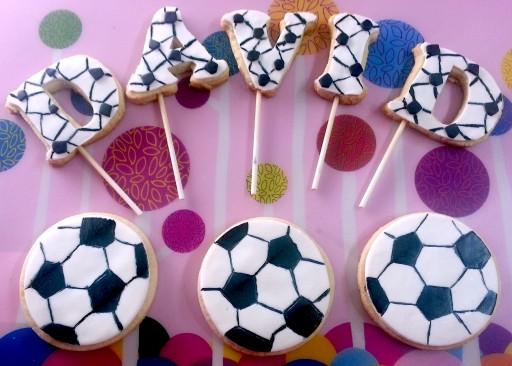 Galletas decoradas Fútbol