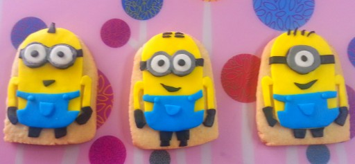 Galletas decoradas Minion
